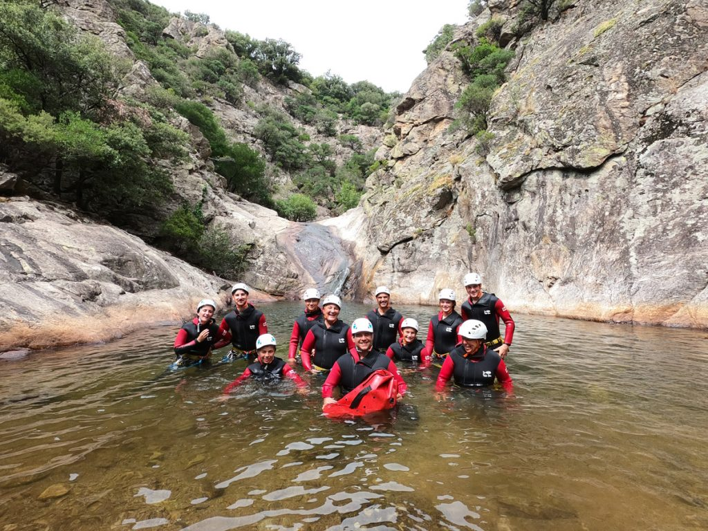 Canyoning Mons la trivalle Canyon du Rec Grand canyoning rec grand herault 34 languedoc roussillon occitanie