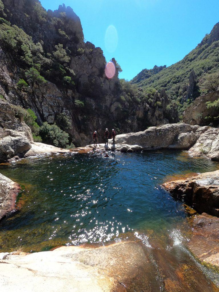 Canyoning Rec Grand canyoning rec grand massif caroux languedoc