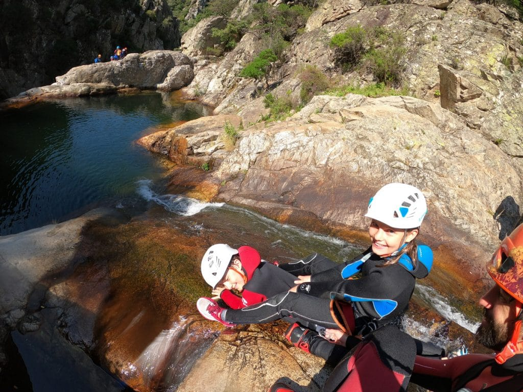Canyoning herault montpellier beziers languedoc roussillon 34