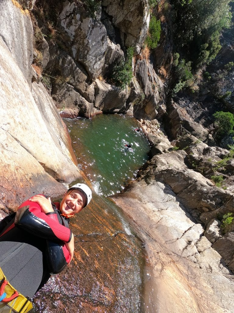 Canyoning mons la trivalle Rec Grand canyoning rec grand mons la trivalle massif caroux languedoc herault 34