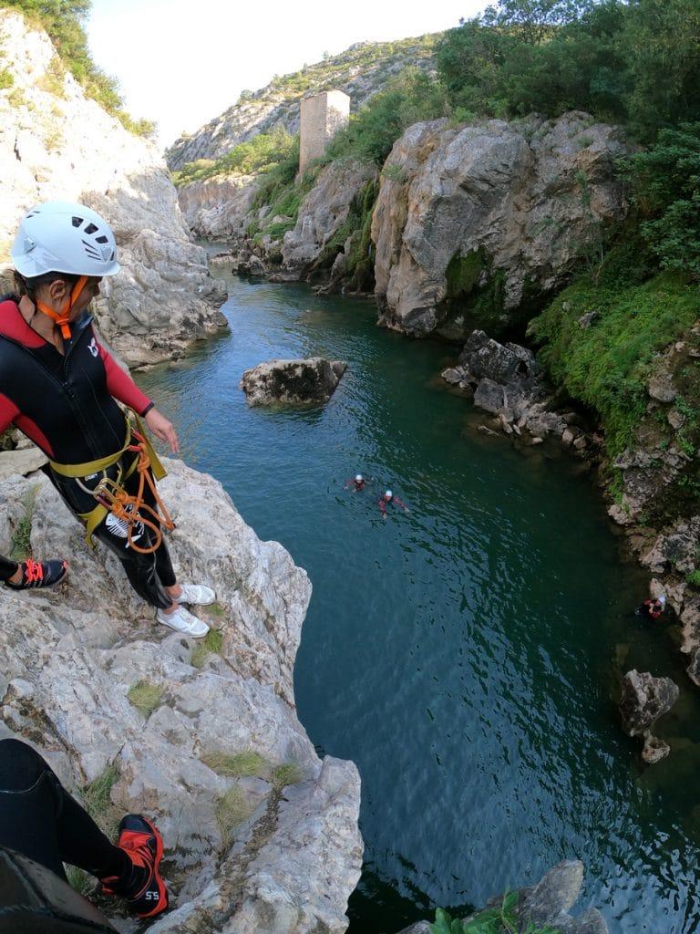 canyoning du diable 34150 Saint-Guilhem-Le-Désert herault languedoc roussillon