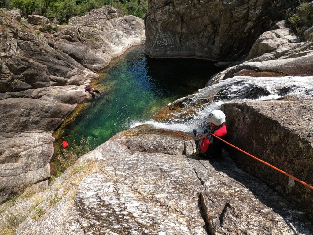 canyoning du vialais languedoc roussillon mons la trivalle