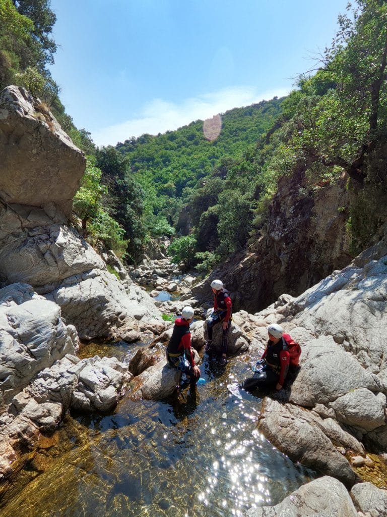 canyoning du vialais mons la trivalle herault langeudoc 34500