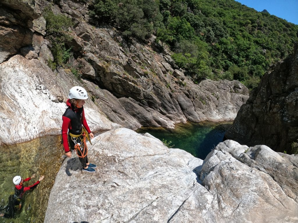 canyoning herault beziers montpellier caroux haut languedoc roussillon