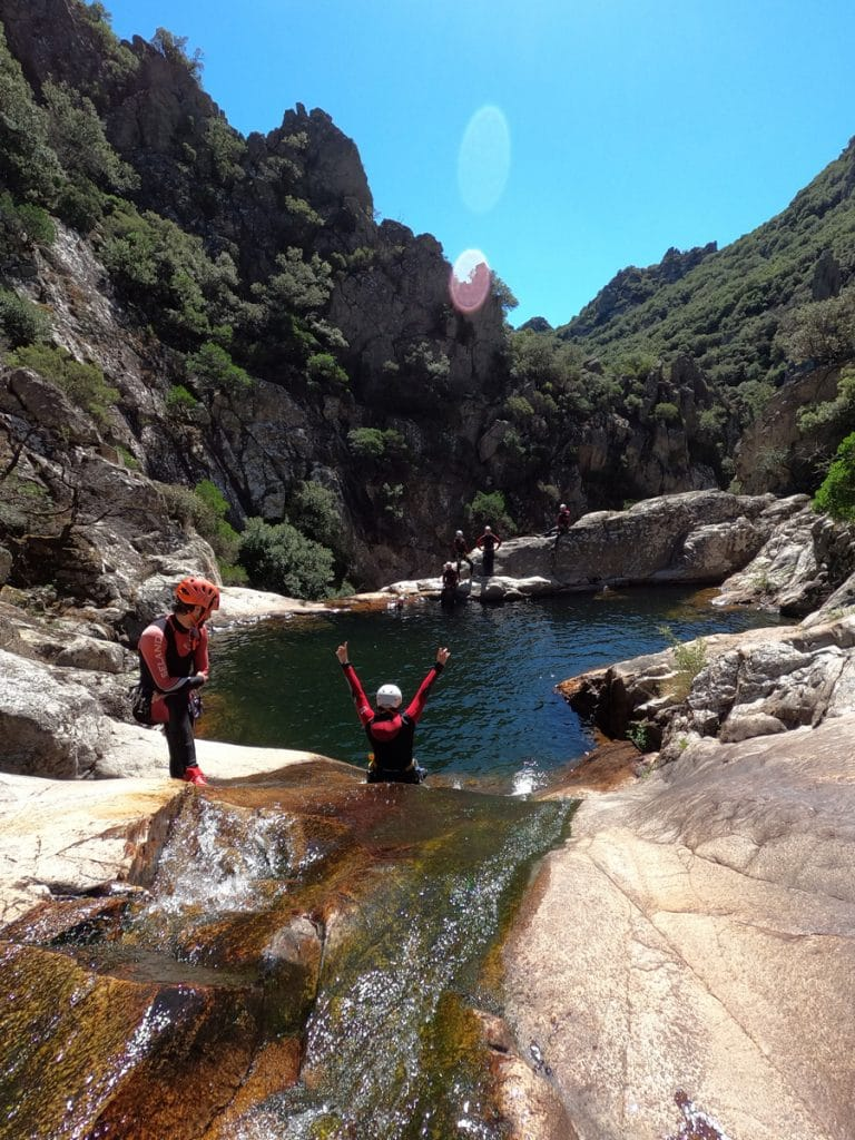 canyoning herault languedoc roussillon 34 mons la trivalle canyon du grand rec