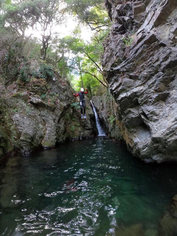 canyoning herault massif du caroux 34
