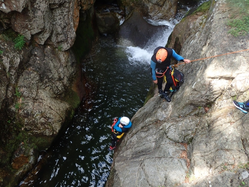 canyoning herault tapoul