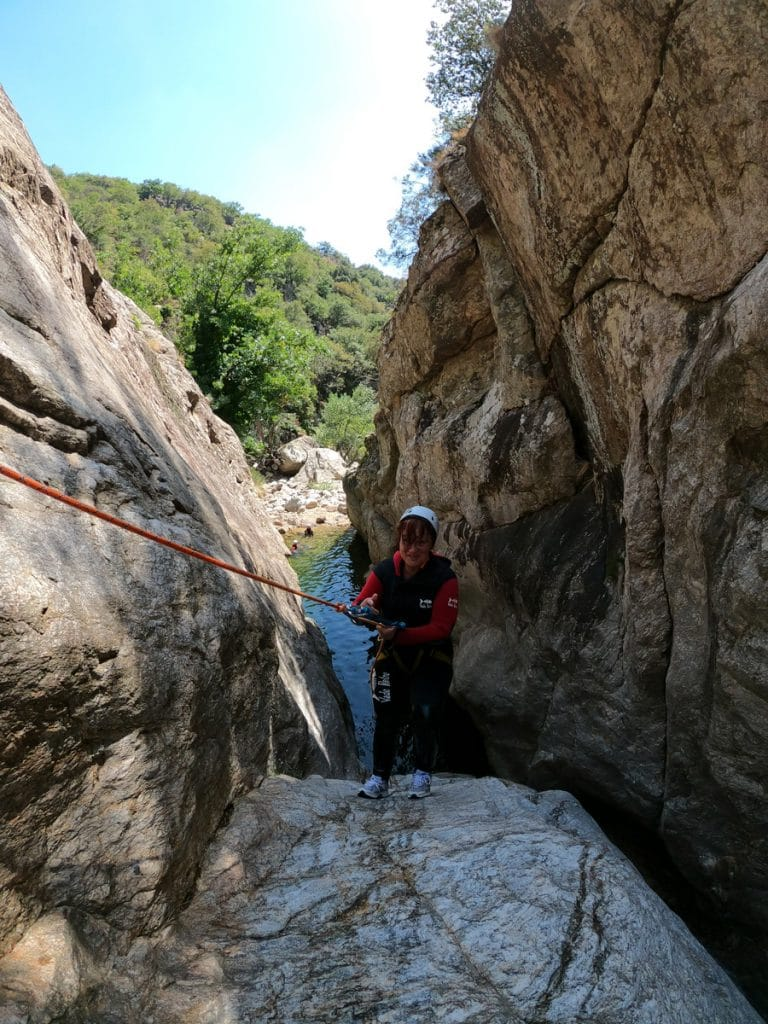 canyoning languedoc roussillon mons la trivalle canyoning du vialais herault langeudoc 34 massif du caroux Gorges d'Héric