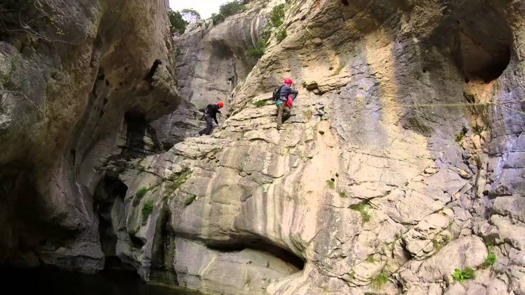 canyoning pres de montpellier herault canyoning verdus