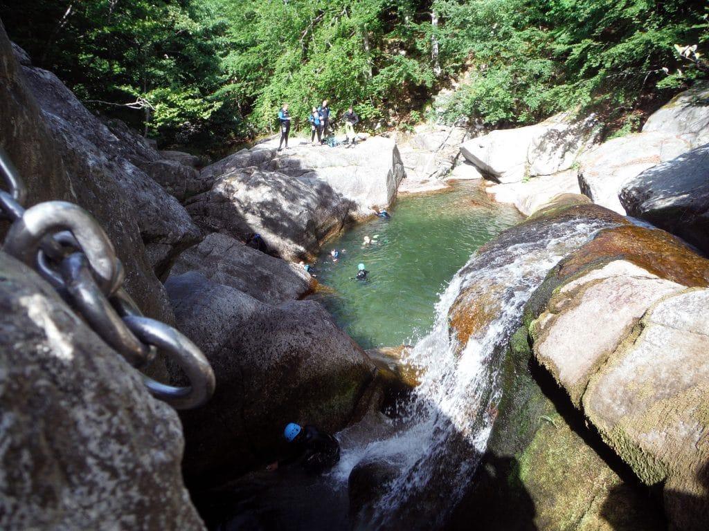 canyoning tapoul cévennes gorges du tapoul