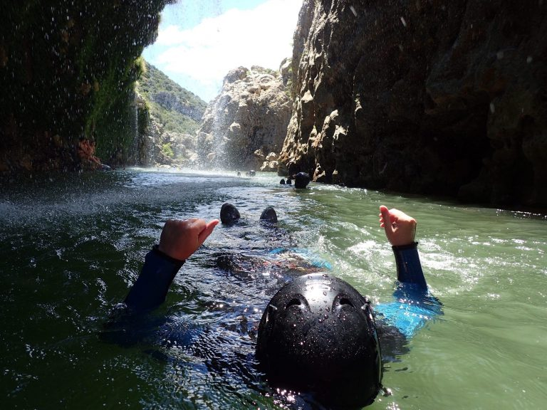cascade d'orgon canyoning cevennes mont aigual lozere gard