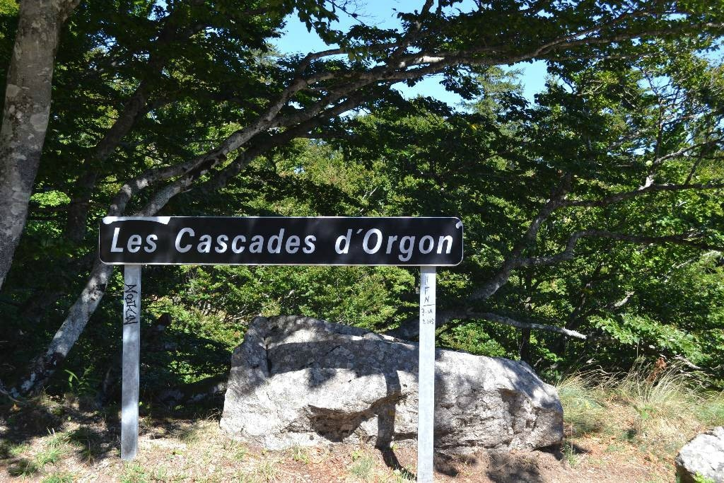 cascades d'orgon cévennes mont aigual lozere occitanie
